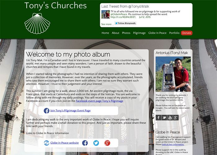 Tonys Churches
